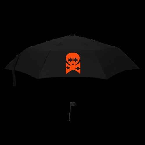 regenschirm, schraeger fuerst, typoskull - Regenschirm (klein)