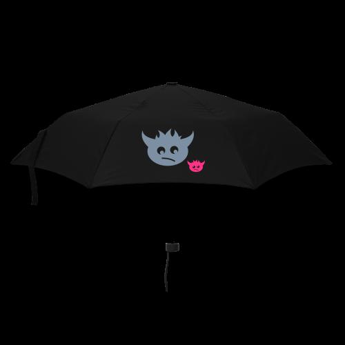 regenschirm, schraeger fuerst, monsterinos - Regenschirm (klein)