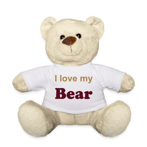 Der I love my Bear Teddy - Teddy