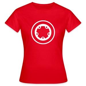 girls widefive / red - Women's T-Shirt