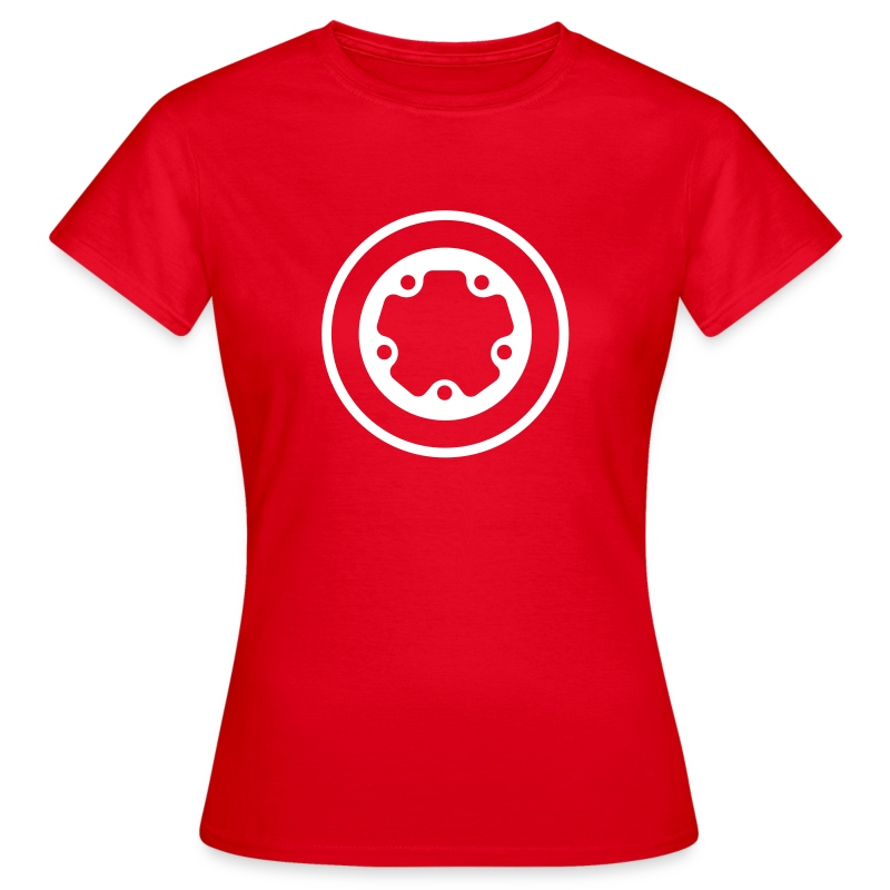 girls widefive / red - Women's T-Shirt