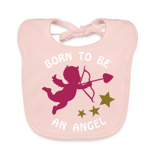 Bavoir : Born to be an angel - Bio - Baby Organic Bib
