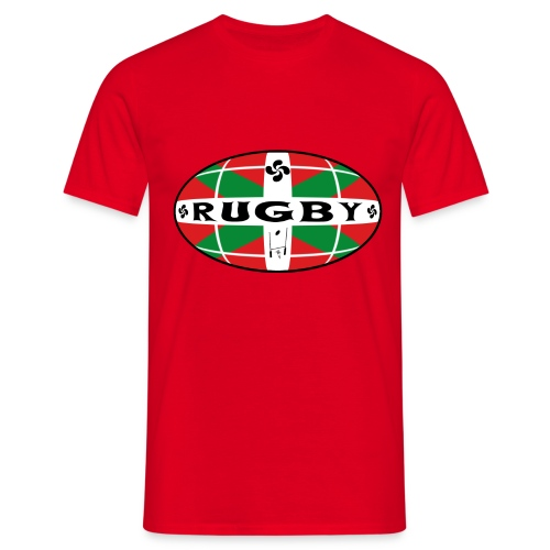 Rugby Basque T-Shirt - T-shirt Homme