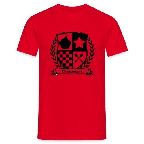 T-shirt Blason Creamart Homme - T-shirt Homme