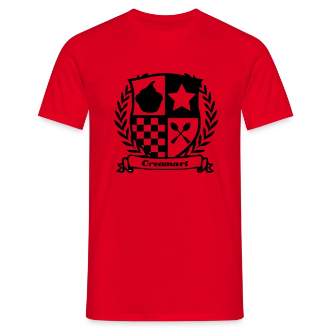 T-shirt Blason Creamart Homme