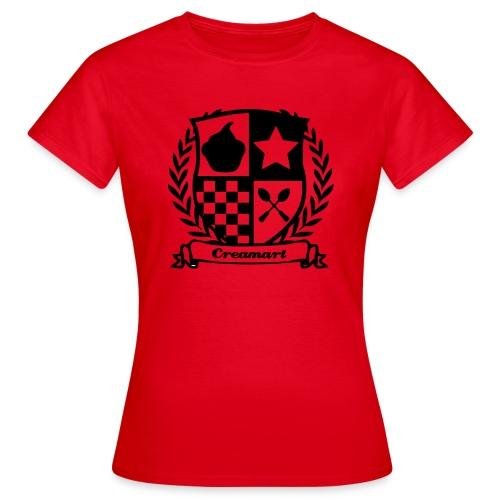 T-shirt Blason Creamart Femme - T-shirt Femme