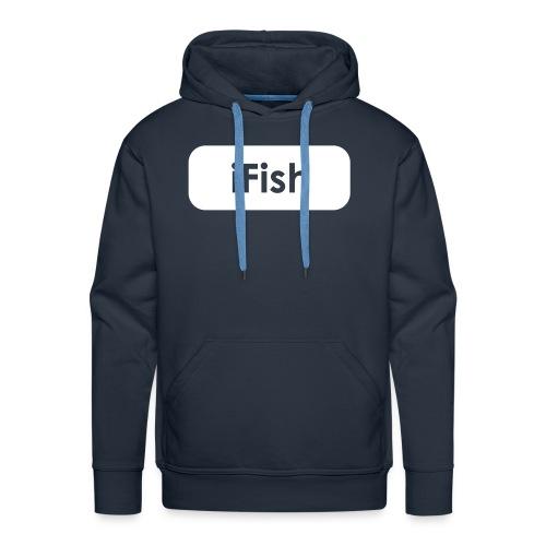 i Fish Hoodie - Men's Premium Hoodie