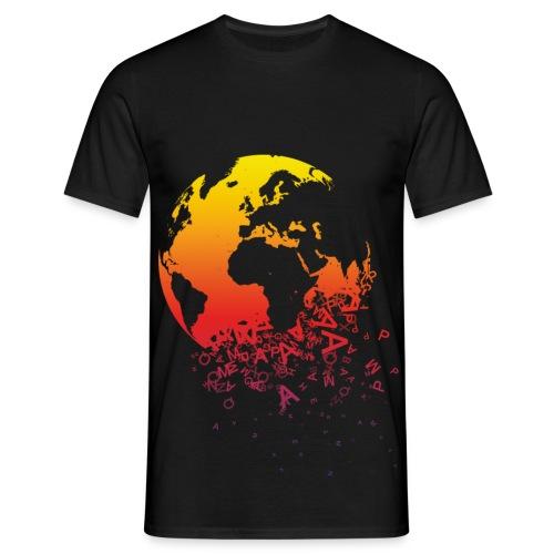 Falling apart - T-shirt herr
