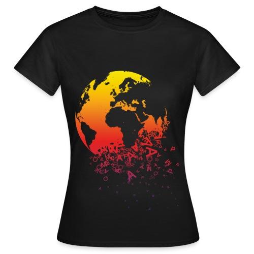 Falling apart - T-shirt dam