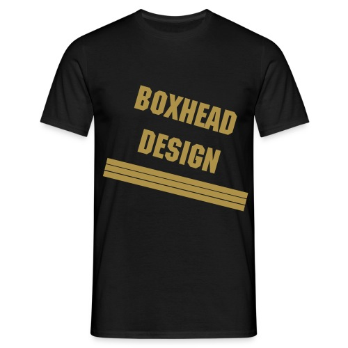 Boxhead Shine Project - Men's T-Shirt
