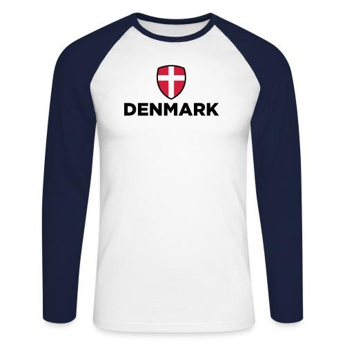 Denmark shirt - Langærmet herre-baseballshirt