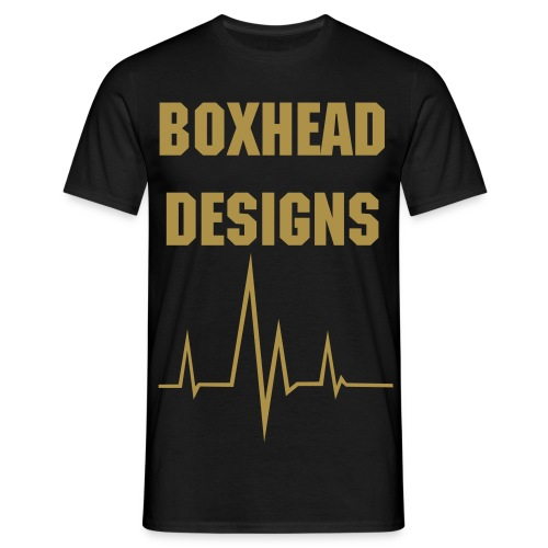 Boxhead Shine Project. - Men's T-Shirt