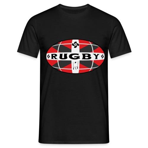 T-shirt rugby basque design - T-shirt Homme