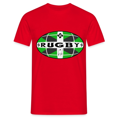 T-shirt rugby basque design - T-shirt Homme
