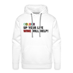 Colour up your life - Männer Premium Hoodie