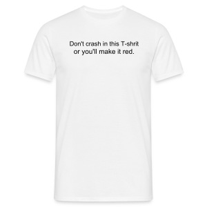 Crash t-shirt - Men's T-Shirt