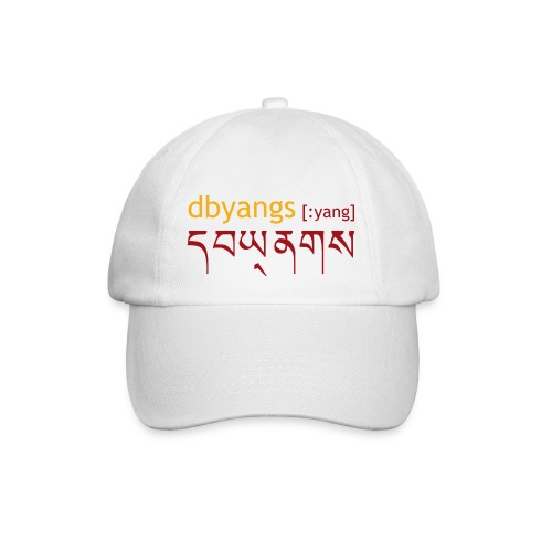 dbyangs Cap weiß - Baseballkappe