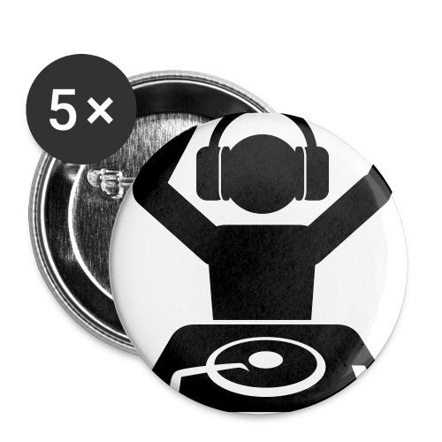 Confezione da 5 spille piccole (25 mm) - busèllìc,buseèllìc,busellic