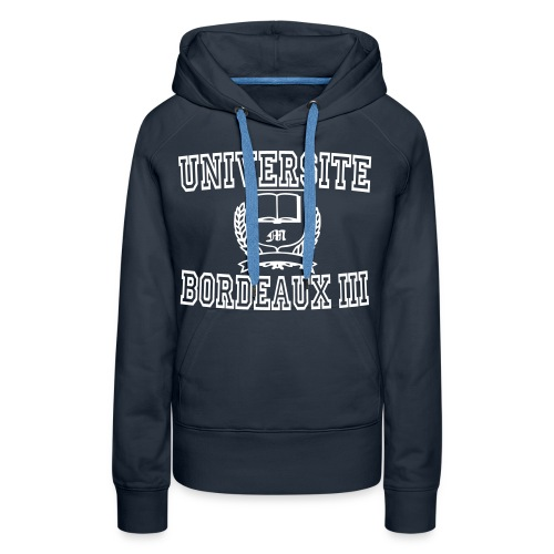 Women's Premium Hoodie - université bordeaux 3