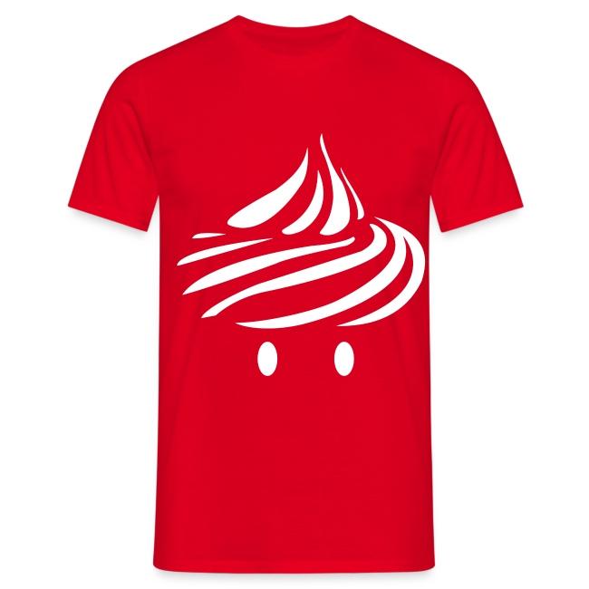 T-shirt Cream pour Homme