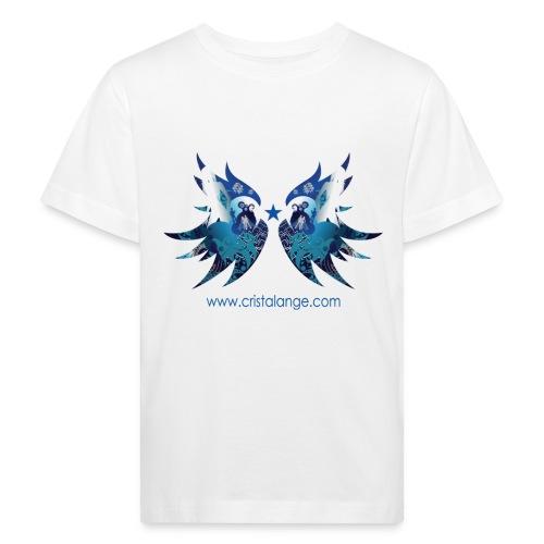 T-shirt bio enfant neutralité climatique ailes d'ange - Kids' Organic T-Shirt