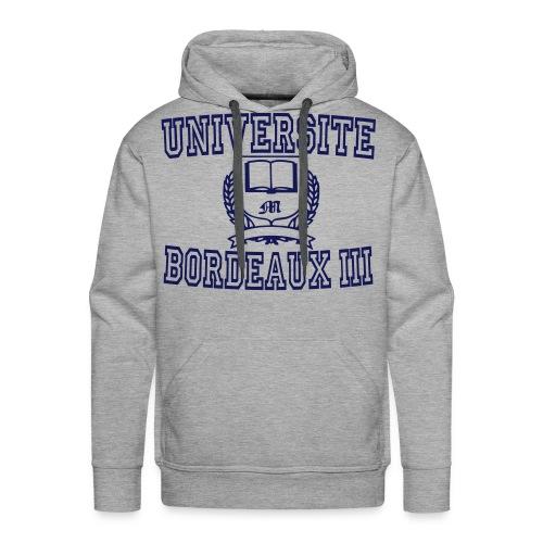 Men's Premium Hoodie - université bordeaux 3