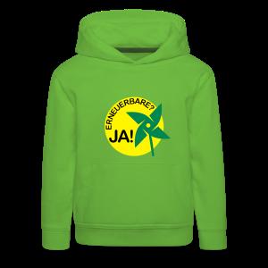 kinder hoodie erneuerbare ja! - Kinder Premium Hoodie