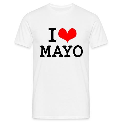 I Love Mayo - Men's T-Shirt