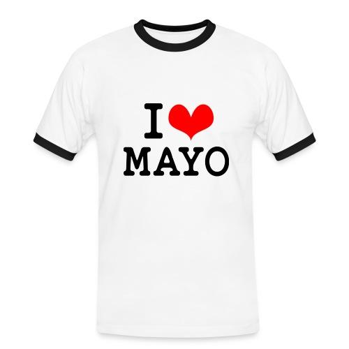 I Love Mayo - Men's Ringer Shirt