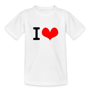 I Love what - Teenage T-shirt