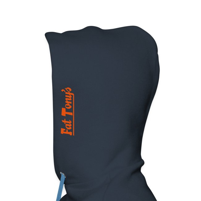 widefive / navy hood *with flock print*