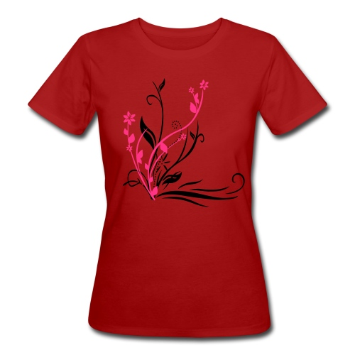 Flower Power 2 - Frauen Bio-T-Shirt