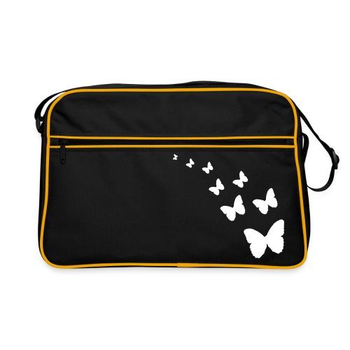 Fjärilar Retroväska - Retroväska