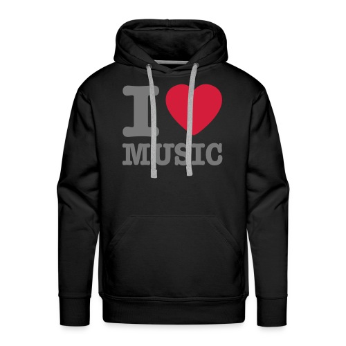 Music Luvtröja Herr  - Premiumluvtröja herr