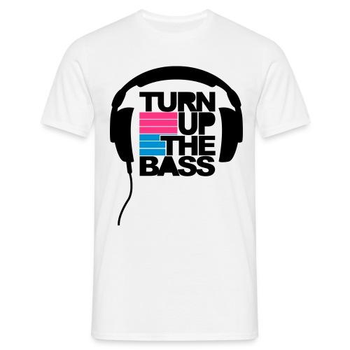 Turn up the bass - T-skjorte for menn