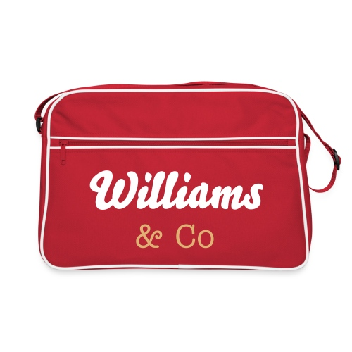 Shoulder Bag (Red) - Retro Bag