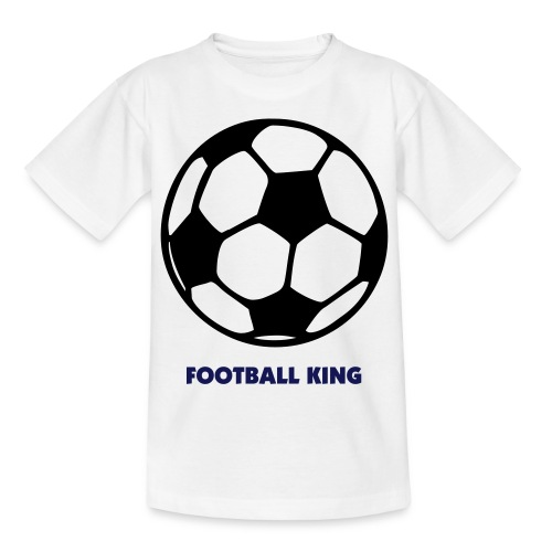 Football King - Teenage T-shirt