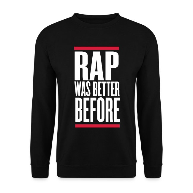 Rap was better before