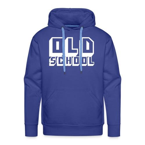 Stylischer Oldschool-Hoody - Männer Premium Hoodie
