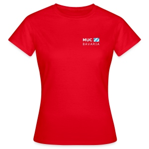 Women's T-Shirt MUC BAVARIA white-lettered - Women's T-Shirt