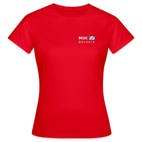 Women's T-Shirt MUC BAVARIA white-lettered - Women's T-Shirt