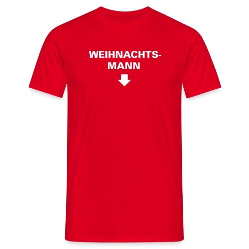 Weihnachtsmann - Männer T-Shirt