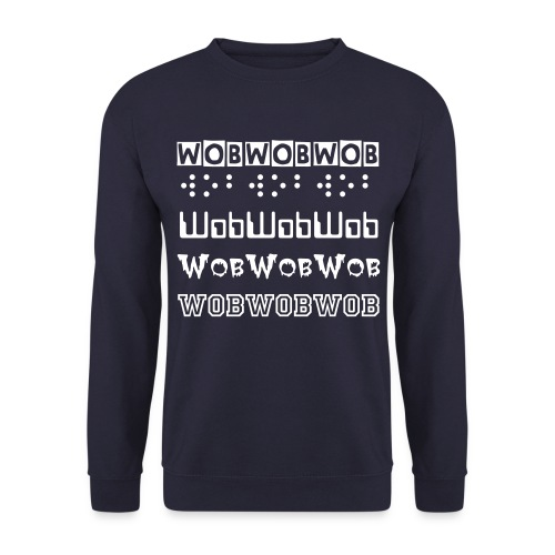 Wob Sweatshirt by DubTees. - Men's Sweatshirt