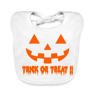 Trick or treat!! - Baby Organic Bib