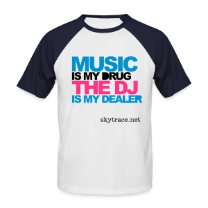 Dealer Deejay - Men's Baseball T-Shirt
