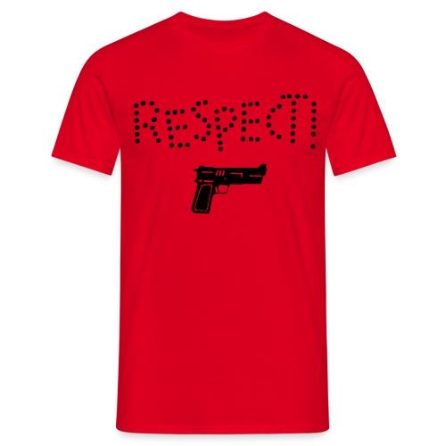 respect  *AANBIEDING* - Mannen T-shirt