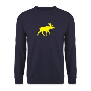 Sweatshirt Shirt Elch (Rennelch) das ideale Gechenk für Volvo-Fahrer - Männer Pullover