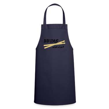 Drums, what else?  Aprons