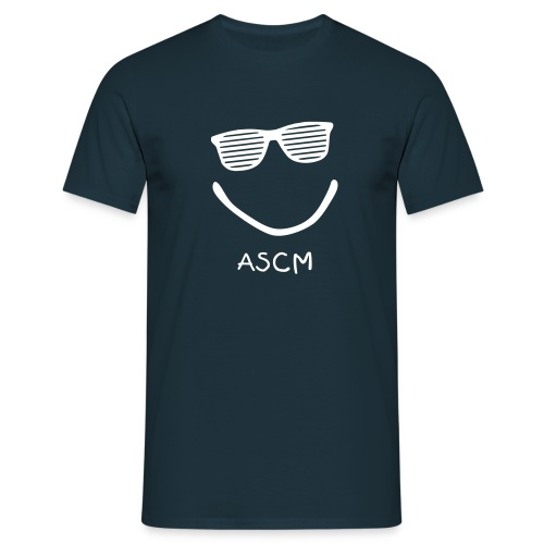 T-Shirt Smile ASCM, coupe normale - T-shirt Homme