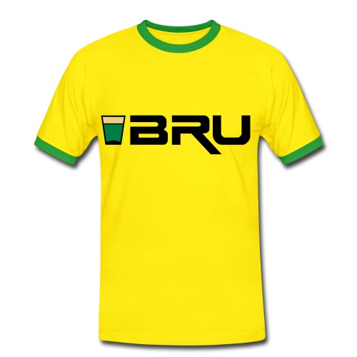 shotbru2_t_11 - Men's Ringer Shirt